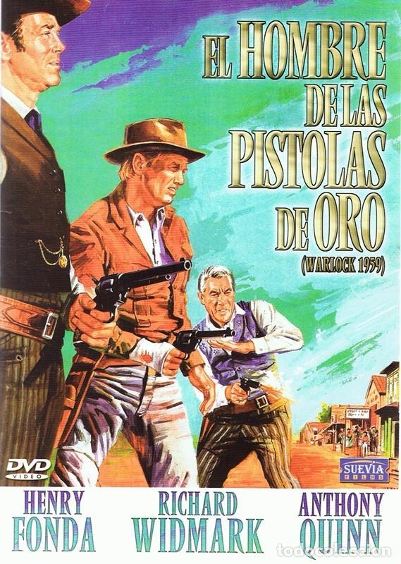 DVD EL HOMBRE DE LAS PISTOLAS DE ORO HENRY FONDA (Cine - Películas - DVD)