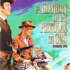 Cine: DVD EL HOMBRE DE LAS PISTOLAS DE ORO HENRY FONDA . Lote 95537223