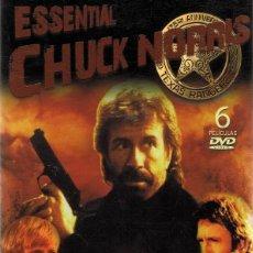 Cine: DVD ESSENTIAL CHUCK NORRIS . Lote 95537403