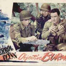Cine: DVD BÉLICO (COLOREADA)- OBJETIVO: BIRMANIA!!  ERROL FLYNN. Lote 131032609