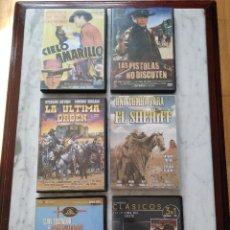 Cine: LOTE DE 6 DVD DEL OESTE. Lote 95546859