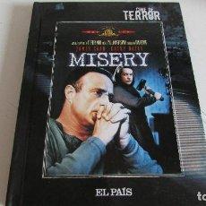 Cine: CINE DE TERROR - DVD MISERY - EL PAIS. Lote 95562115
