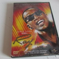 Cine: DVD RAY -- 2 DISCOS - HISTORIA DE LA VIDA DE RAY CHARLES . Lote 95562767