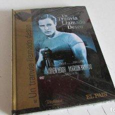 Cine: DVD - CINE DE ORO - UN TRANVIA LLAMADO DESEO - EL PAIS . Lote 95563499