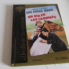 Cine: DVD - CINE DE ORO - UN DIA EN LAS CARRERAS - EL PAIS . Lote 95564075
