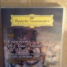 Cine: 2005. CONCIERTO DE AÑO NUEVO EN VIENA (DEUTSCHE GRAMMOPHON. DVD COLLECTION). Lote 95629527
