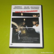 Cine: DVD.- SOLA EN LA OSCURIDAD - AUDREY HEPBURN - ALAN ARKIN - RICHARD CRENNA. Lote 95641043