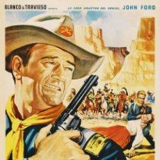 Cine: DVD WESTERN (COLOREADA)- RIO GRANDE-(JOHN FORD)-JOHN WAYNE,VICTOR MCLAGLEN.. Lote 128133250