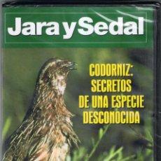 Cine: JARA Y SEDAL Nº 44. CODORNIZ: SECRETOS DE UNA ESPECIE DESCONOCIDA (PRECINTADO). Lote 95763007