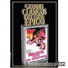 Cine: MACISTE CONTRA LOS MONSTRUOS (DVD). Lote 95763307