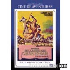 Cine: MACISTE EN LA CORTE DEL GRAN KHAN (DVD). Lote 95763599