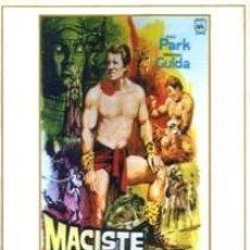 Cine: MACISTE EN LAS MINAS DEL REY SALOMON (DVD). Lote 95763903