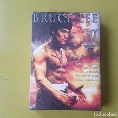 Cine: DVD.- BRUCE LEE (7 DVDS) (EDICIÓN CONMEMORATIVA 70 ANIVERSARIO) - NUEVA Y PRECINTADA. Lote 95873271