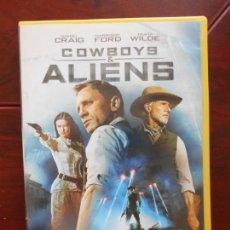 Cine: DVD COWBOYS & ALIENS - EDICION DE ALQUILER - DANIEL CRAIG - HARRISON FORD (G3). Lote 95938435