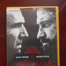 Cine: DVD CORIOLANUS - RALPH FIENNES - GERARD BUTLER (G3). Lote 95938515