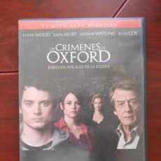 Cine: DVD LOS CRIMENES DE OXFORD - EDICION DE ALQUILER - ELIJAH WOOD - JOHN HURT - LEONOR WATLING (A4). Lote 95939019