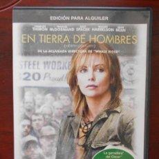 Cine: DVD EN TIERRA DE HOMBRES - CHARLIZE THERON - EDICION DE ALQUILER (A4). Lote 95939071