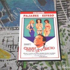 Cine: CARAY CON EL DIVORCIO - COLECCIÓN PAJARES - ESTESO - DVD. Lote 95958931