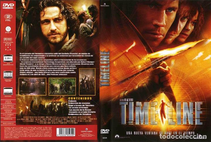 TIMELINE DESCATALOGADA (Cine - Películas - DVD)