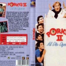 Cine: PORKY'S II: AL DIA SIGUIENTE DESCATALOGADA. Lote 95962387