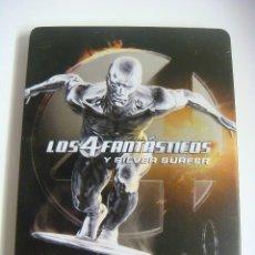 Cine: D.V.D LOS 4 FANTASTICOS Y SILVER SURFER 2 DISCOS (#). Lote 95962507