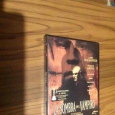 Cine: LA SOMBRA DEL VAMPIRO. JOHN MALKOVICH. WILLIAM DAFOE. DVD EN BUEN ESTADO. Lote 95968827