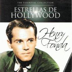 Cine: DVD ESTRELLAS DE HOLLYWOOD HENRY FONDA ( 2 DISCOS). Lote 96002811