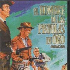 Cine: EL HOMBRE DE LAS PISTOLAS DE ORO. DVD-2798. Lote 96020871