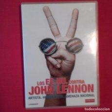 Cine: DVD DOCUMENTAL LOS EEUU CONTRA JOHN LENNON. DAVID LEAF JOHN SCHEINFELD. NUMEROSOS EXTRAS. BEATLES. Lote 96035855