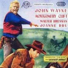 Cine: DVD WESTERN (COLOREADA)- RIO ROJO (JOHN WAYNE). Lote 128056684