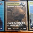 Cine: ANIMALES AL LÍMITE. DVDS 1, 2 Y 3. TEMPERATURAS EXTREMAS. SUPERVIVIENCIA Y SUPERACIÓN. DE LA CIMA AL. Lote 96151091