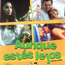 Cine: DVD AUNQUE ESTÉS LEJOS . Lote 96163811