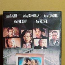Cine: MÁXIMO RIESGO .COM JOHN LIGHT MIA FARROW PETER COYOTE DVD NUEVO. Lote 96301147