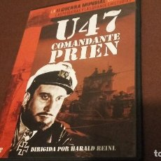 Cine: U 47 COMANDANTE PRIEN SEGUNDA GUERRA. Lote 96342739