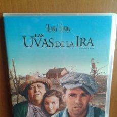 Cine: CINE DVD PELICULA LAS UVAS DE LA IRA. Lote 122015058