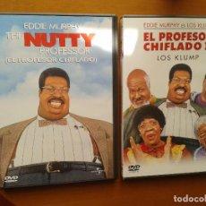 Cine: CINE DVD PELICULA NUTTY Y 2 EL PROFESOR CHIFLADO ,DOS DISCOS DVDS. Lote 96575031