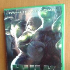 Cine: CINE DVD PELICULA HULK,EDICION ESPECIAL 2 DISCOS. Lote 96575095
