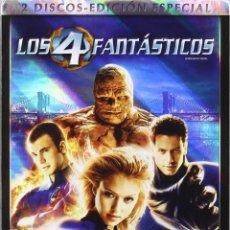 Cine: LOS 4 FANTÁSTICOS EDICIÓN ESPECIAL + LOS 4 FANTÁSTICOS Y SILVER SURFER - TIM STORY. Lote 96597427