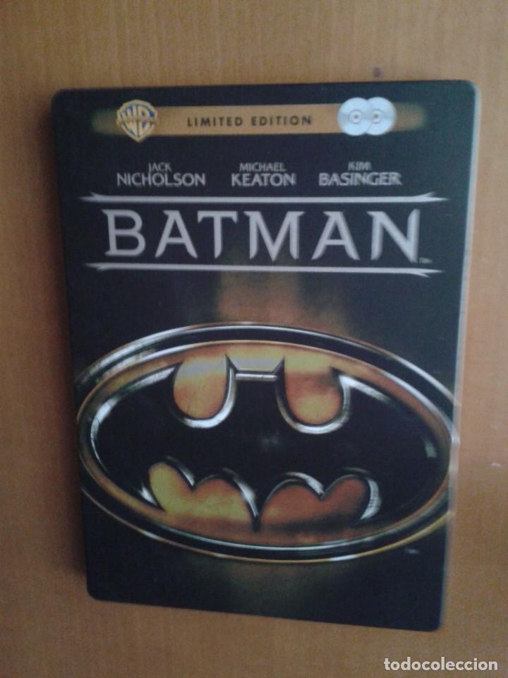 CINE DVD PELICULA BATMAN EDICION ESPECIAL METALICA 2 DISCOS (Cine - Películas - DVD)
