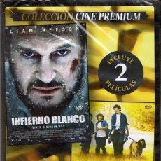 Cine: DVD INFIERNO BLANCO & ALABAMA MOON (PRECINTADO). Lote 96742763