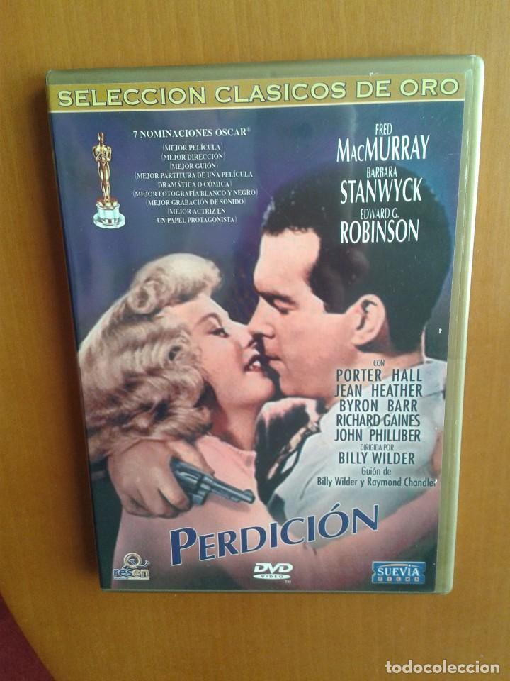CINE CLASICO DVD PELICULA.CLASICA PERDICION (Cine - Películas - DVD)