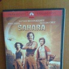 Cine: CINE DVD PELICULA SAHARA. Lote 96761819