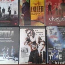 Cine: 6 FILMS /DE JOHNNIE TO **ELECTION 1 Y 2 ** EXILED **PTU * CON LOS DÍAS CONTADOS 2 * FULLTIME KILLER. Lote 135299833