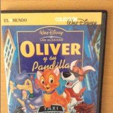 Cine: OLIVER Y SU PANDILLA - WALT DISNEY - DVD. Lote 96861703