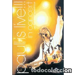 PAUL IS LIVE!!! IN CONCERT ON THE NEW WORLD TOUR (Cine - Películas - DVD)