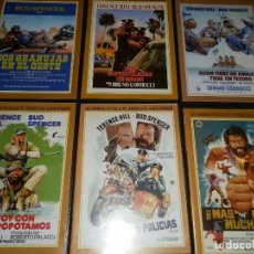 Cine: BUD SPENCER-TERENCE HILL. SEIS TITULOS,DVD,NUEVOS.. Lote 97010479
