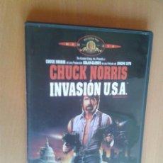 Cine: CINE DVD PELICULA INVASION USA. Lote 97038247
