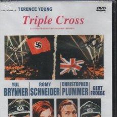 Cine: TRIPLE CROSS. DVD-3289. Lote 97075227