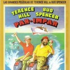 Cine: DVD PAR - IMPAR TERENCE HILL & BUD SPENCER . Lote 97120699