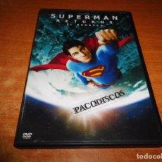 Cine: SUPERMAN RETURNS EL REGRESO DVD DEL AÑO 1996 ESPAÑA BRANDON ROUTH KATE BOSWORTH JAMES MARSDEN. Lote 97141763